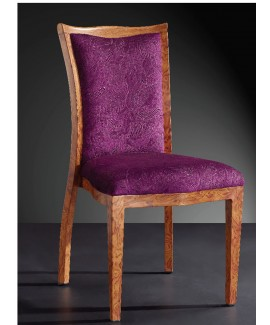 Imitation Wood Banquet Chair